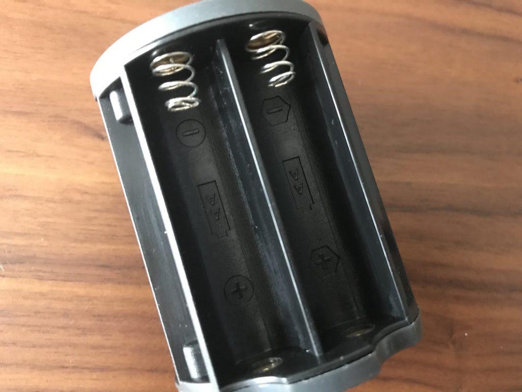 ランタンの電池