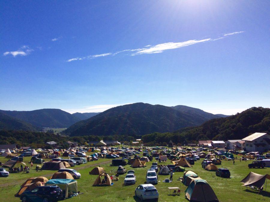 マキノ高原キャンプ場全景