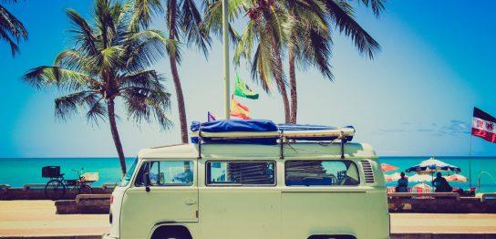 サーフィンの車