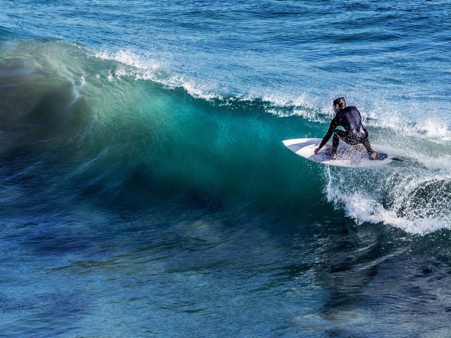 サーフィンにチャレンジする?