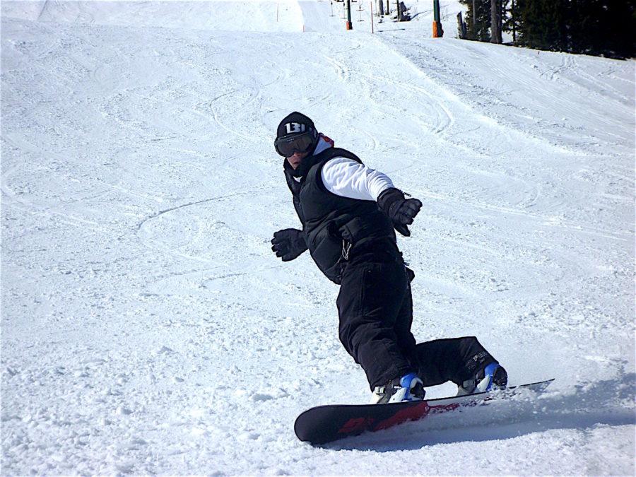 スノーボードのターン