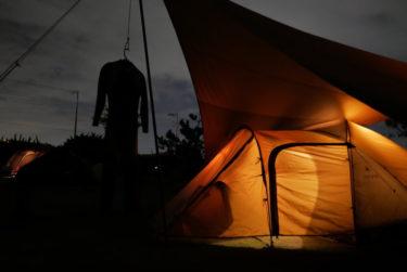 九十九里の太陽と海オートキャンプ場まで冬のサーフキャンプへ