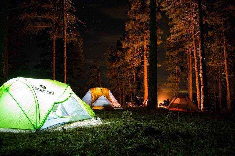 キャンプ感