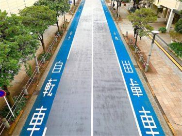 自転車が安心して走れ、歩行者が安心して歩ける世界に