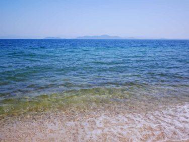 透明度が高い琵琶湖まで徒歩0分!青柳浜キャンプ場は教えたくないけどレビューしちゃおう