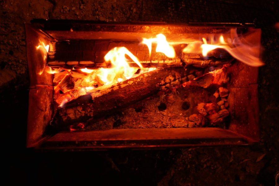 モンベル の焚き火台