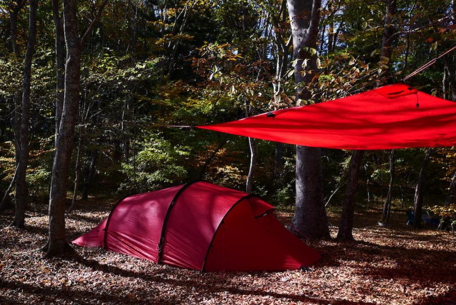ヒルバーグのテントとタープ